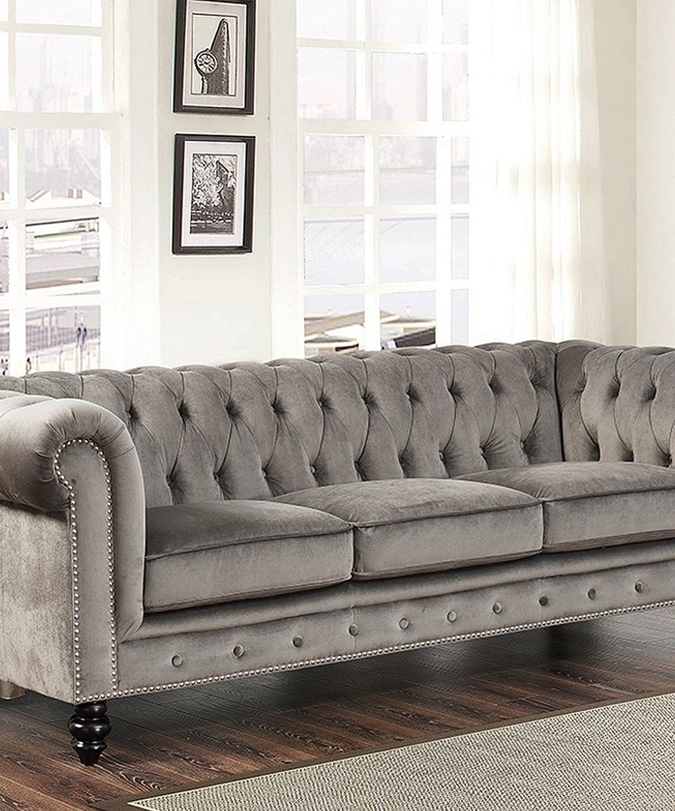 Take a look at this tufted grand chesterfield sofa today