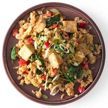 Vegetarian Fried Rice - FamilyCircle.com