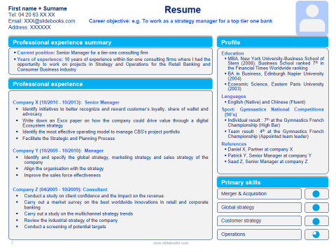 ppt resume examples rio ferdinands co
