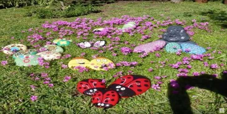 10 Decoracion de piedras para jardin