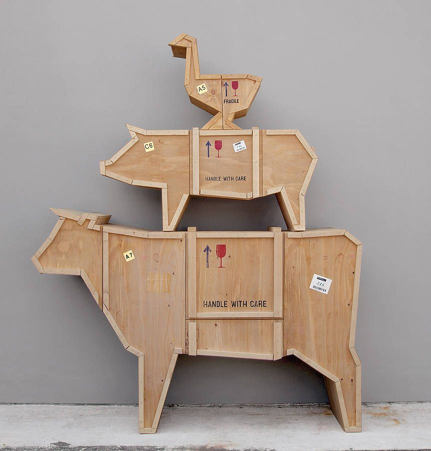 Wood Crate Furniture, Crate