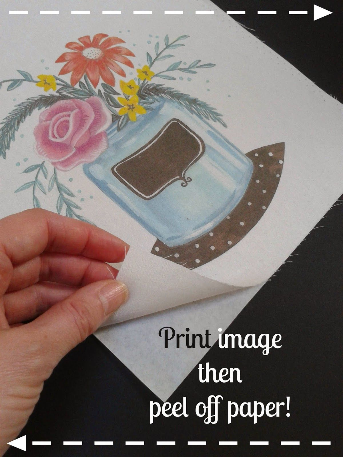 How to print an image onto fabric using your home printer