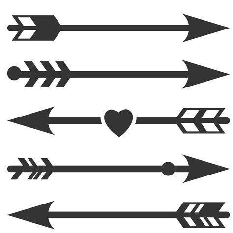 Download Image result for Free SVG Files for Cricut Arrow Broken ...