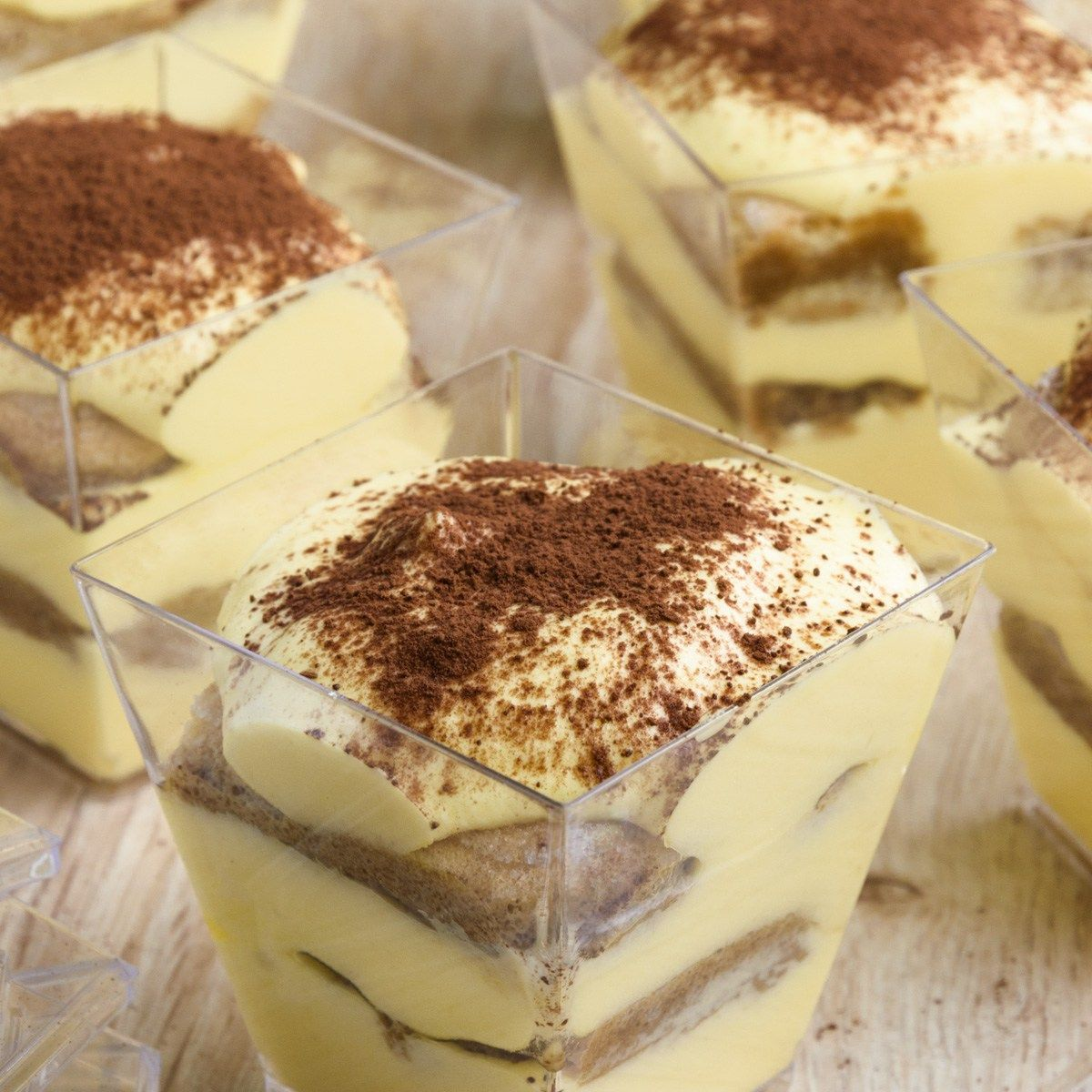 Tiramisu Cups, The Most Popular And Loved Italian Desserts
