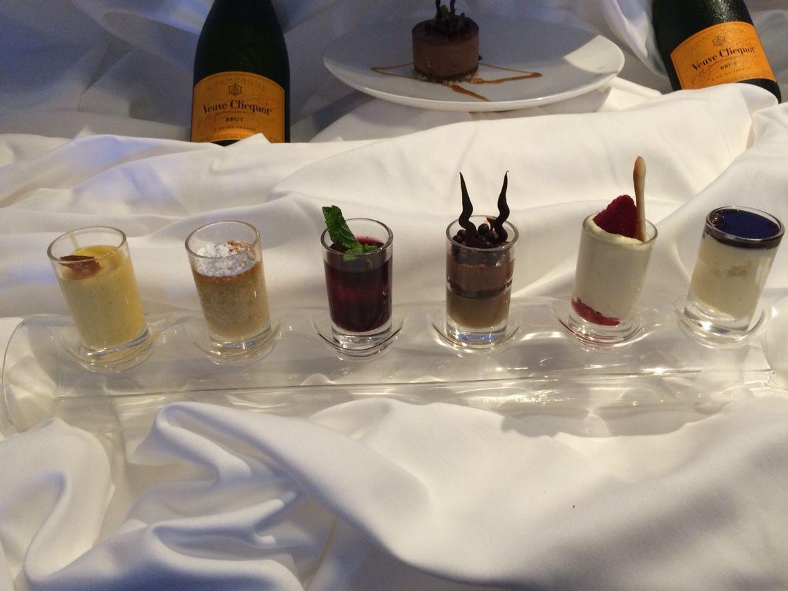 Jeg elsker desserter, men får nok aldrig taget mig sammen til at lave så mange ting på een gang