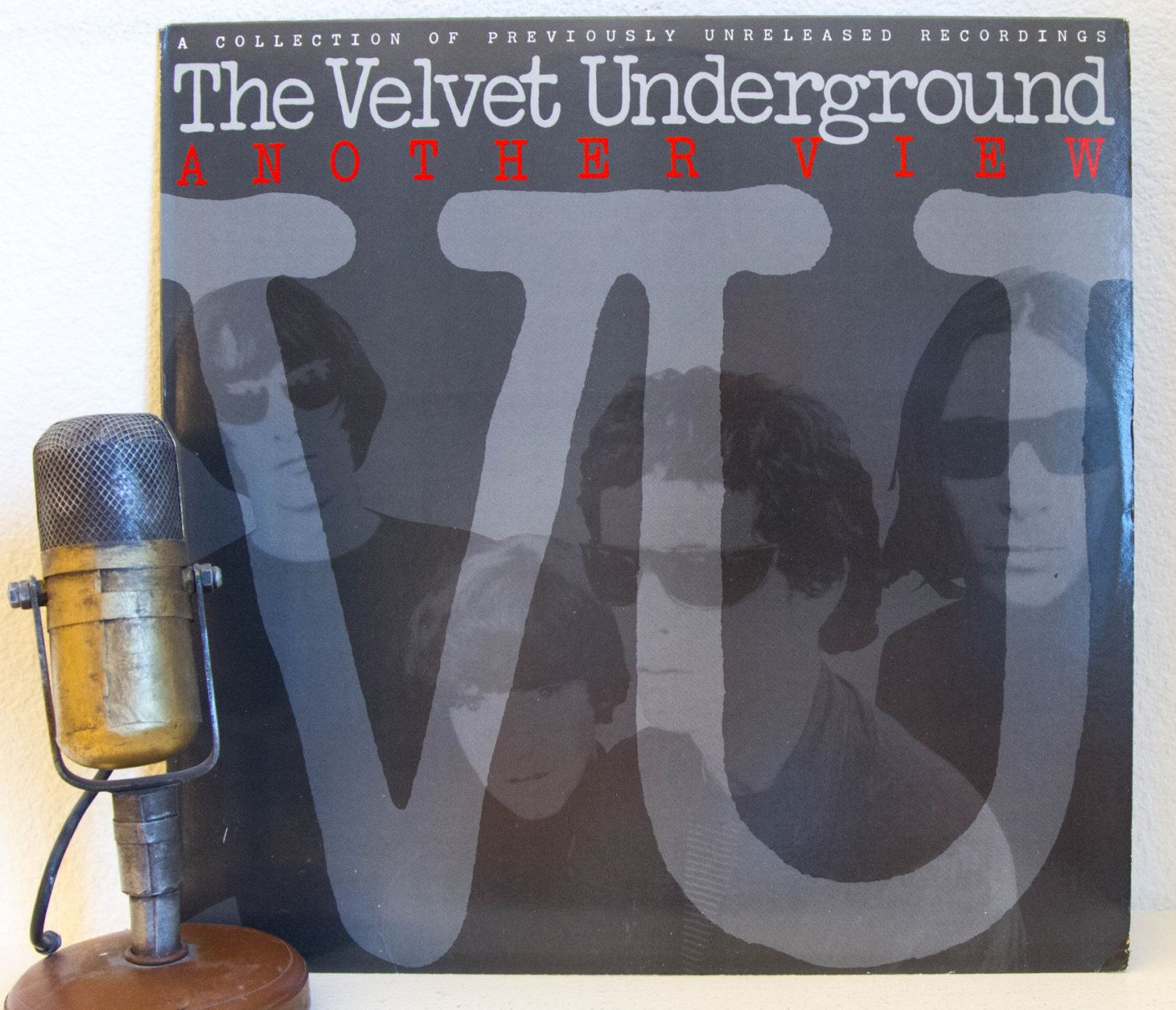 "Velvet Underground (with Lou Reed and John Cale) Vinyl Record 1970s Classic Rock New York Underground Hipster ""Another View"" (1986 Polygram)"
