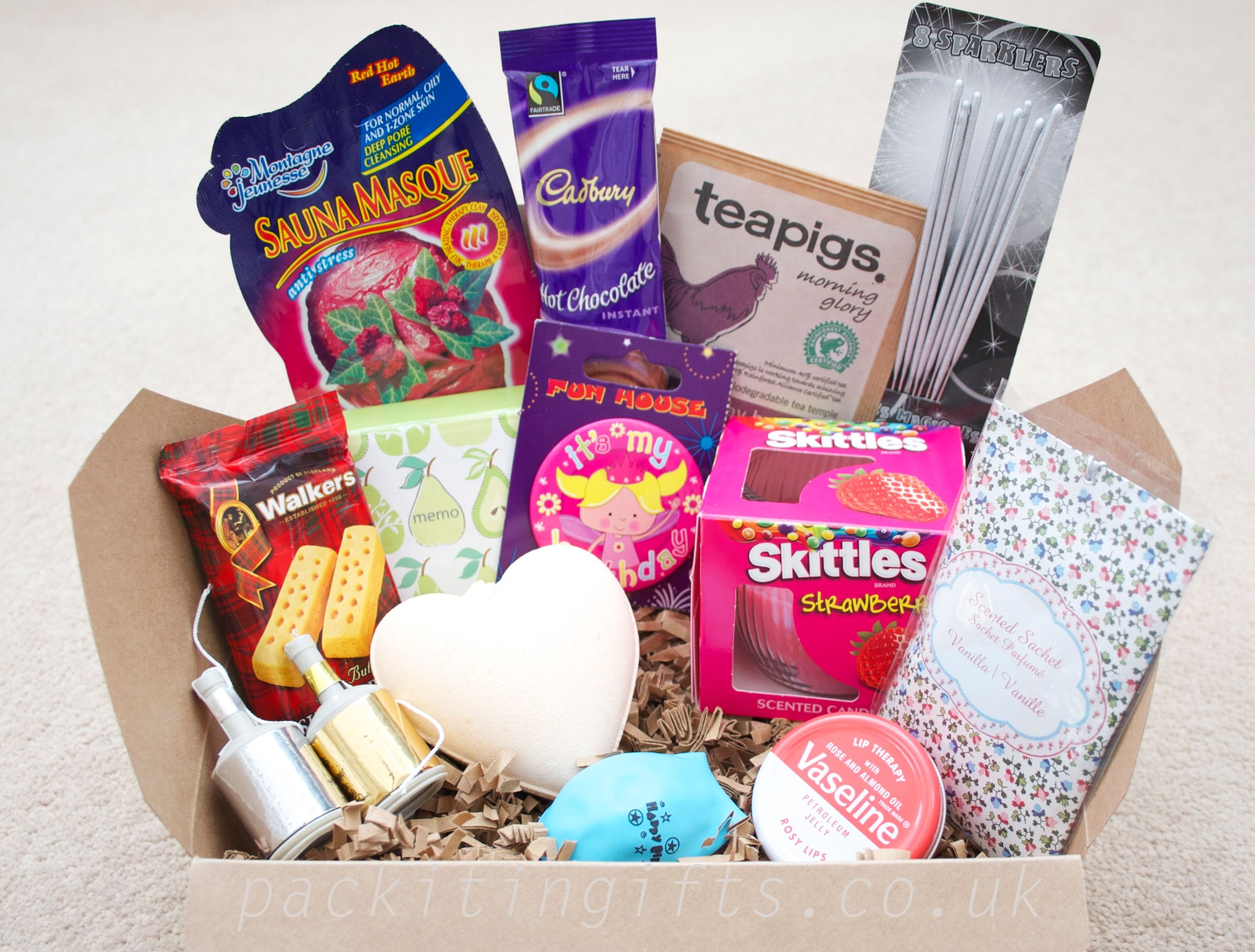 Happy Birthday Gift Boxed Hamper Unusual Gift For The Person Who