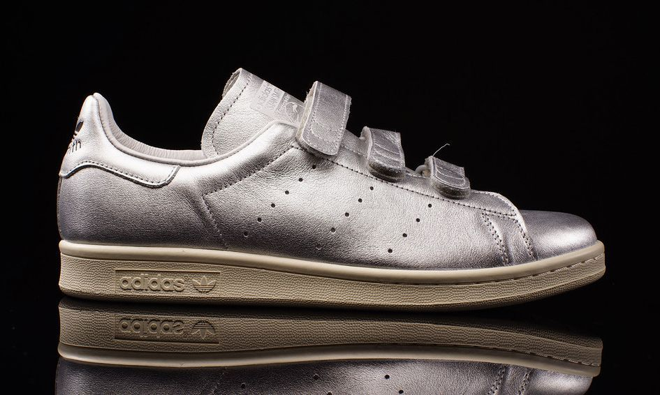 6511f85f1a3 SOON ♥ Nigo adidas Stan Smith Velcro Silver