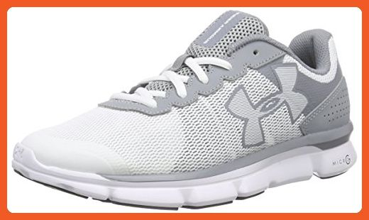 Under Armour Women's UA Micro G Speed Swift Running Shoes 6.5 Steel - Athletic shoes for women (*Amazon Partner-Link)
