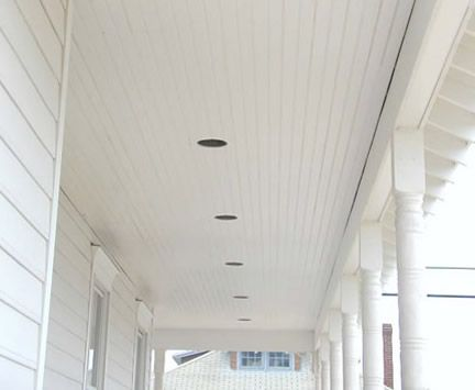 azek brand beadboard installed on pvc bead board porch ceiling or paint blue - Beadboard Ceiling