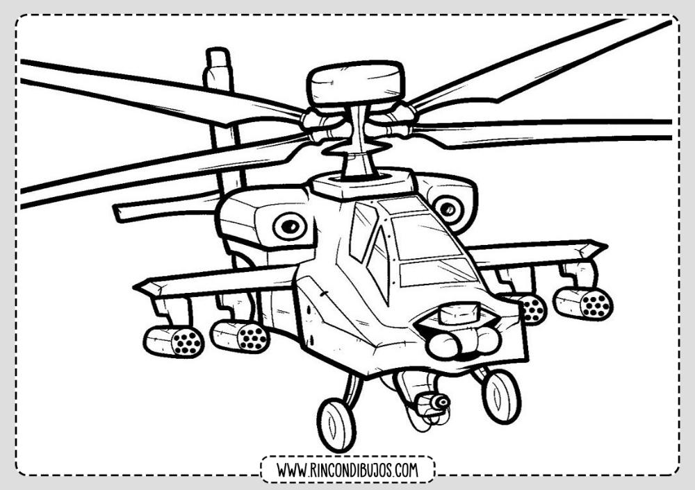 Dibujos De Helicopteros Para Colorear Rincon Dibujos En 2020 Paginas Para Colorear Para Ninos Dibujos De Autos Dibujos