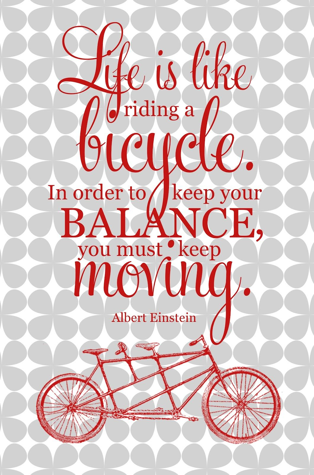Free Albert Einstein Quote Printable from My 3 Monsters #printables #quotes