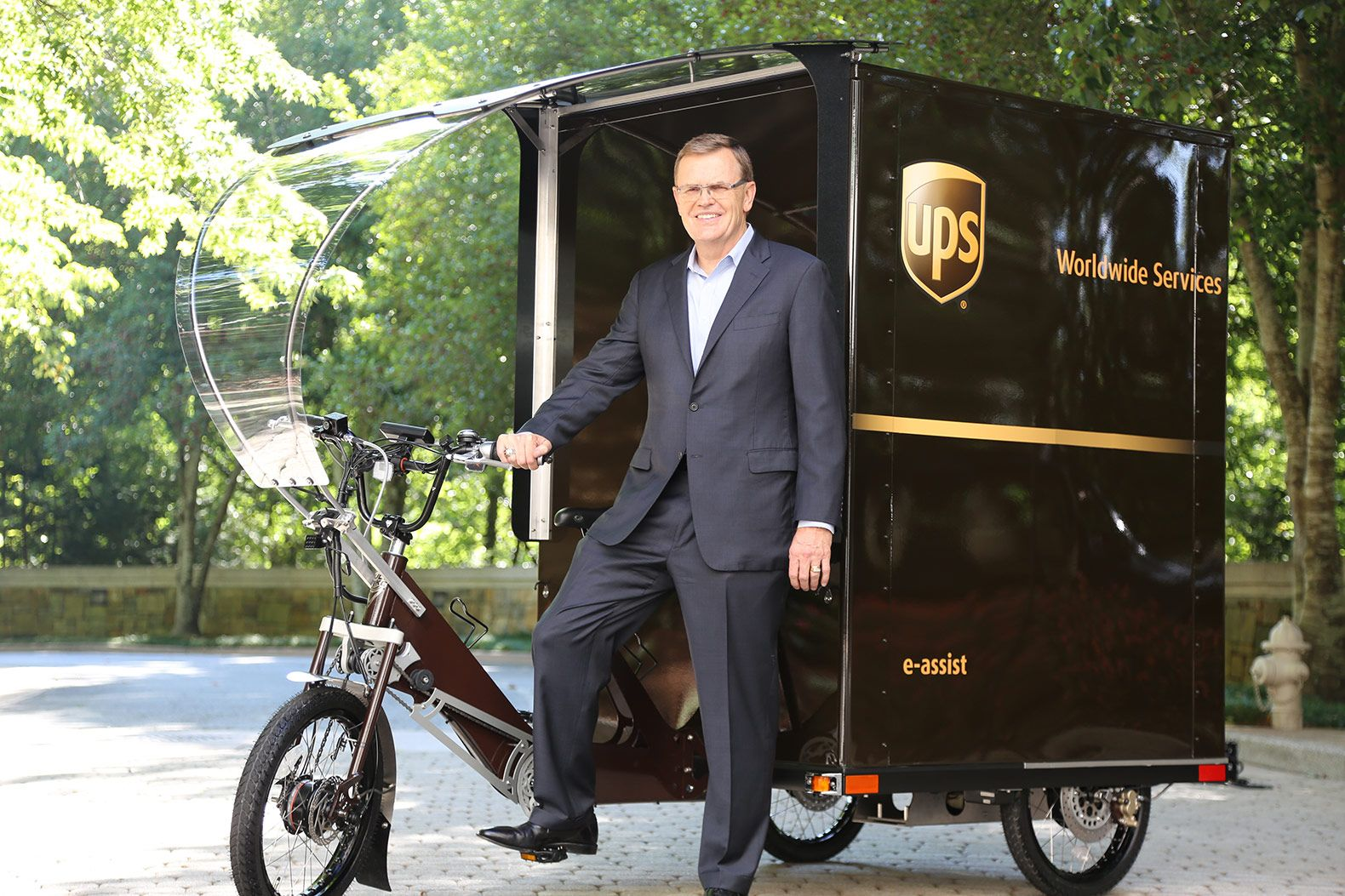 Ups Rolls Out First E Bike Delivery In The United States Ebike United Parcel Service Ups
