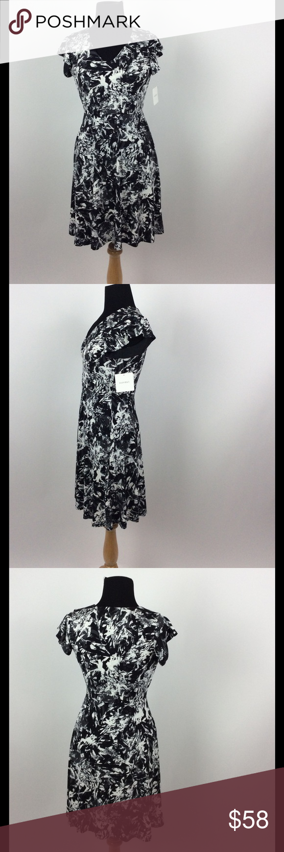 Ellen tracy nwt see size chart for more measurements dresses midi also pinterest rh