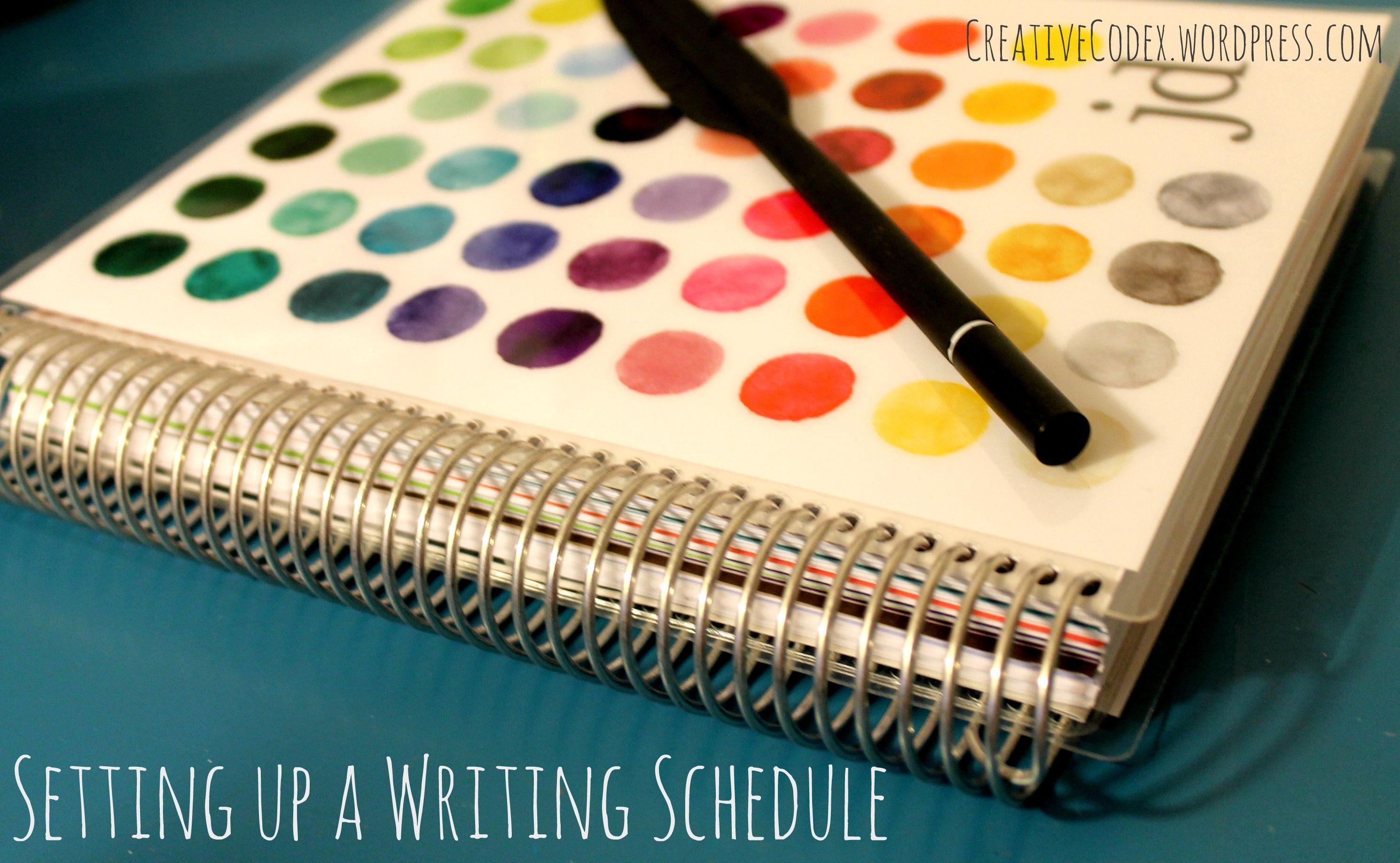 Writing Schedule
