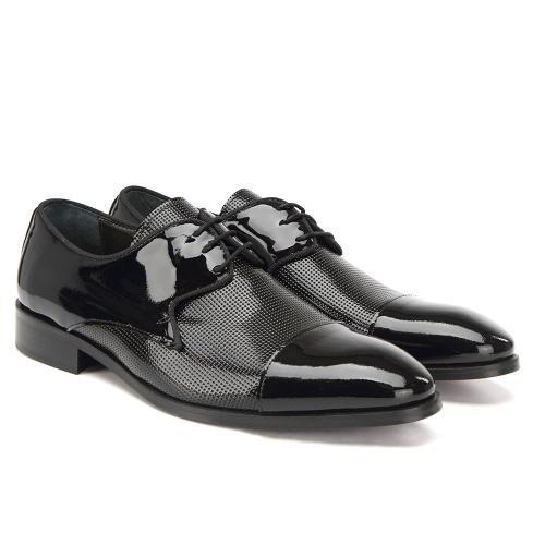 Brit - Mann - Homme Noir Chaussures Noir, Couleur Noir, Taille 43