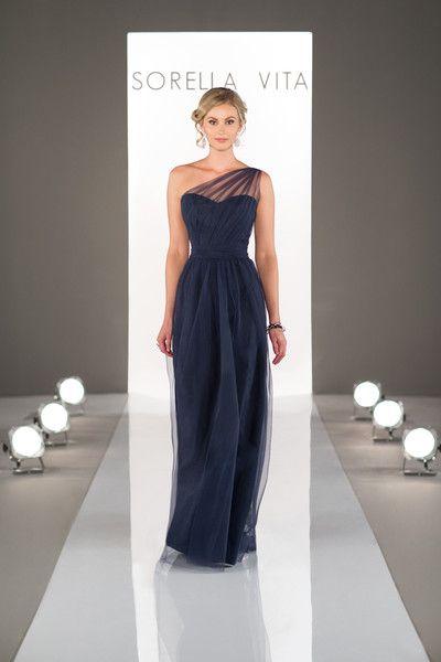 Sorella Vita Sorella Vita Bridesmaid Dresses One Shoulder Bridesmaid Dresses Romantic Bridesmaid Dresses