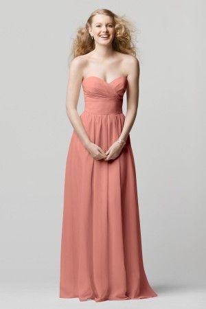 WTOO Bridesmaid Dresses - Style 601 [601] - $212.00 : Wedding Dresses, Bridesmaid Dresses, Prom Dresses and Bridal Dresses - Your Best Brida...