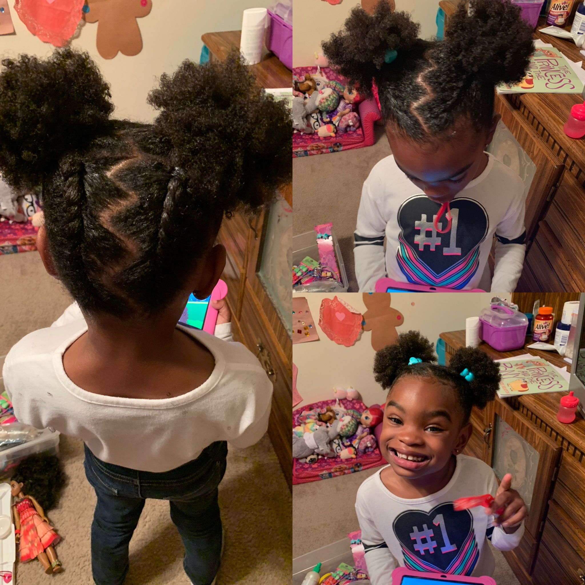 Pin On Kid Hair Styles