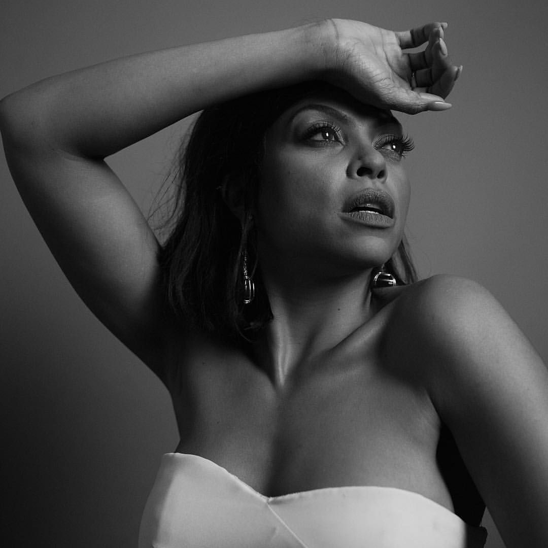 """Golden Globes on Instagram: """"Taraji P. Henson, Best Performance By An Actress In A Television Series - Drama for """"Empire"""". Photo by @inezandvinoodh #goldenglobes"""""""