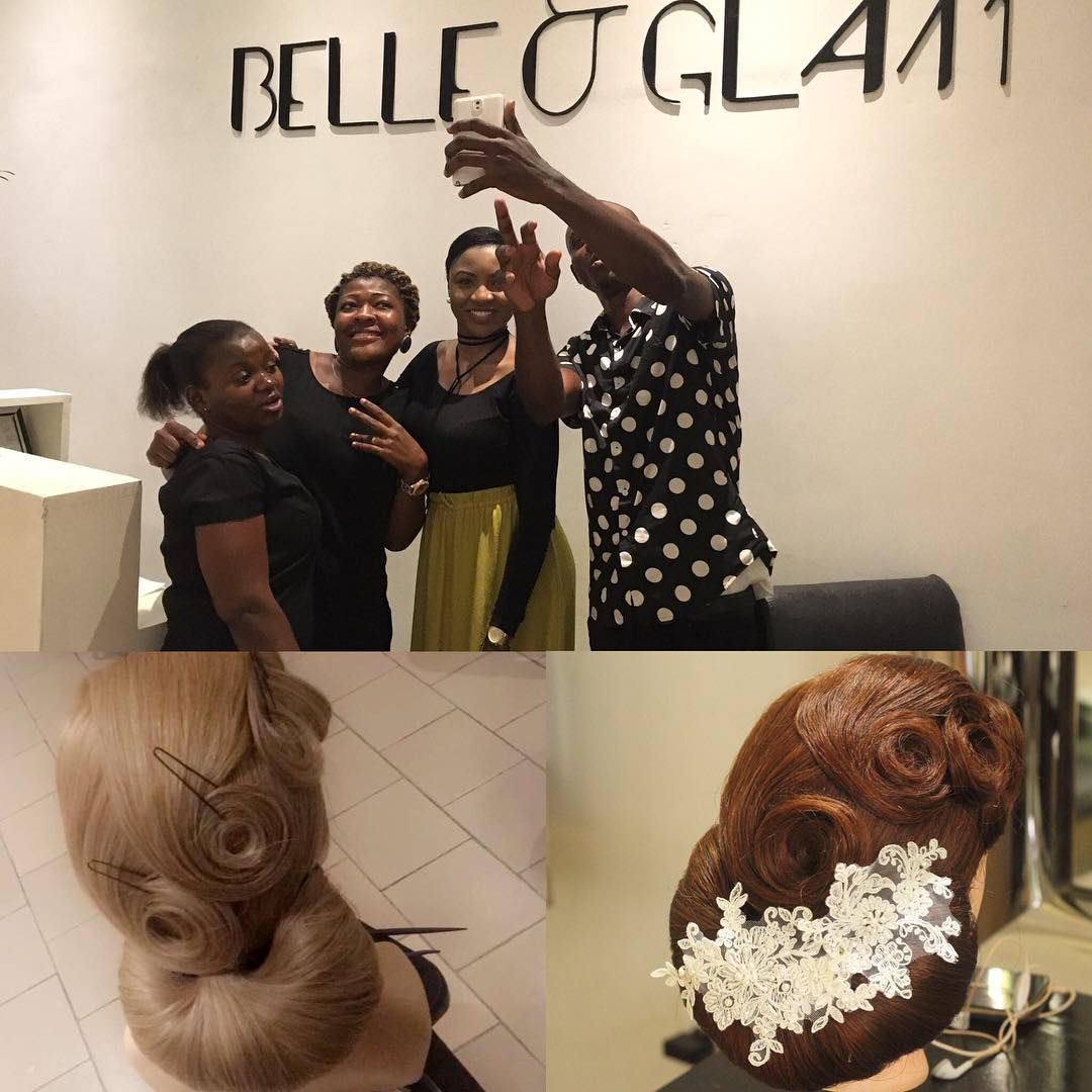 The other day teaching belleandglam ua staff some timeless