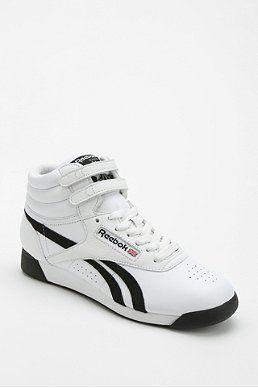 2e01b38d17c Reebok Freestyle Side-Stripe High-Top Sneaker