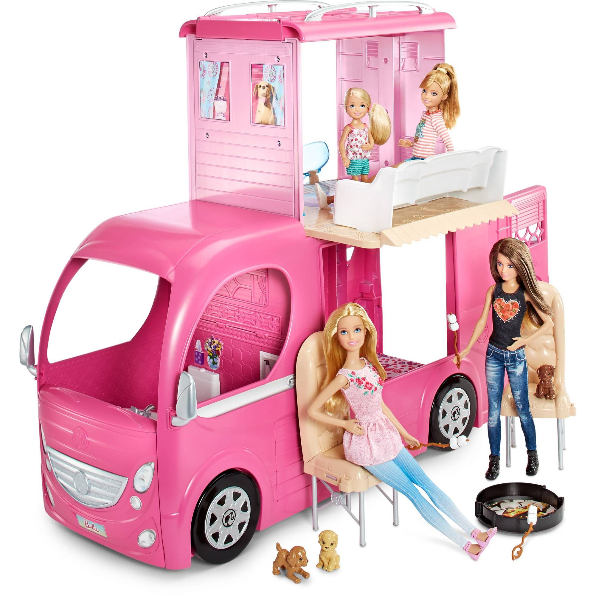 Barbie pop up camper barbie stuff that i for Accessori per la casa di barbie