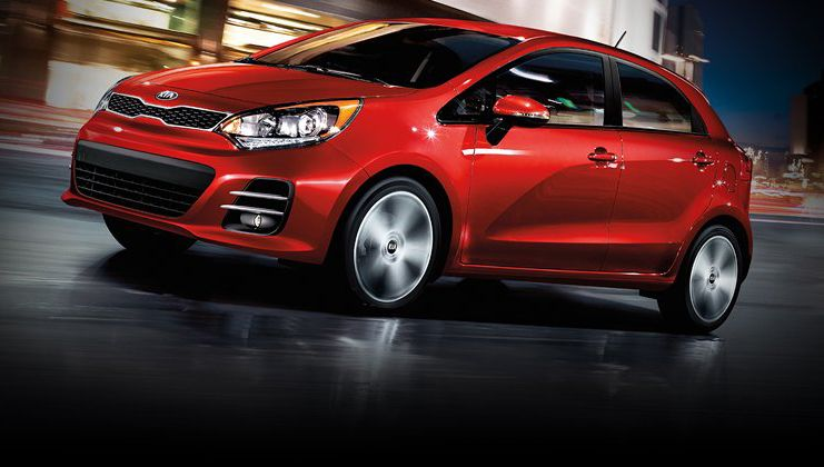 2016 Kia Rio 5 Door With A Gasoline Direct Injection Gdi