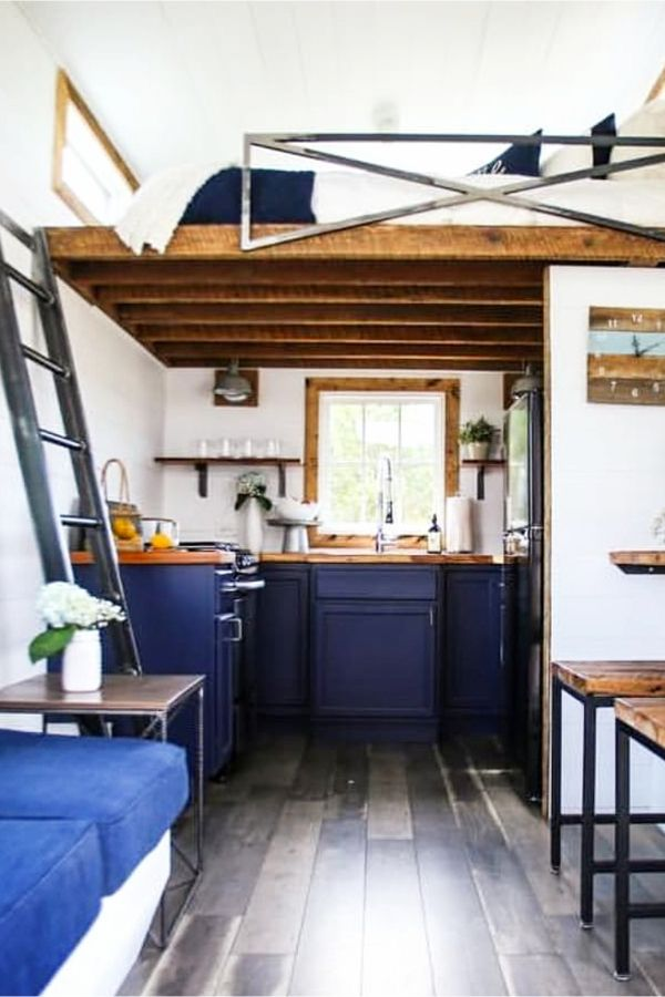 Inside tiny houses pictures video tours floor plans tips  more house and living also rh pinterest