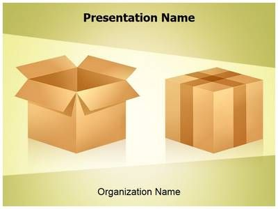 merchandise shipping powerpoint template is one of the best, Presentation templates
