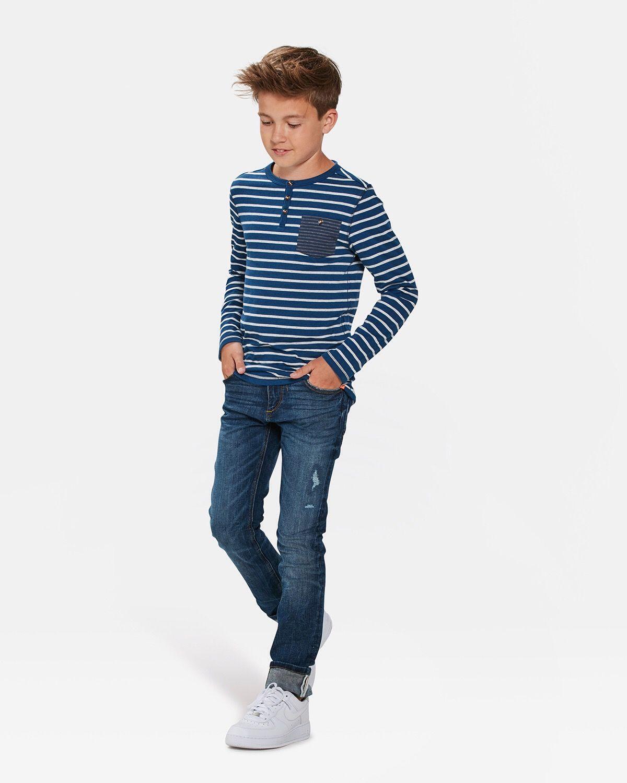 Jongens skinny fit superstretch jeans