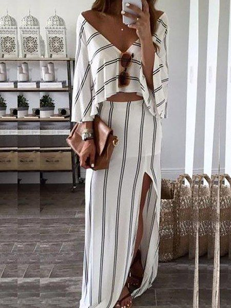80c2ae2db91 Buy Summer Dresses For Women at JustFashionNow. Online Shopping  JustFashionNow V neck Women Summer Dress