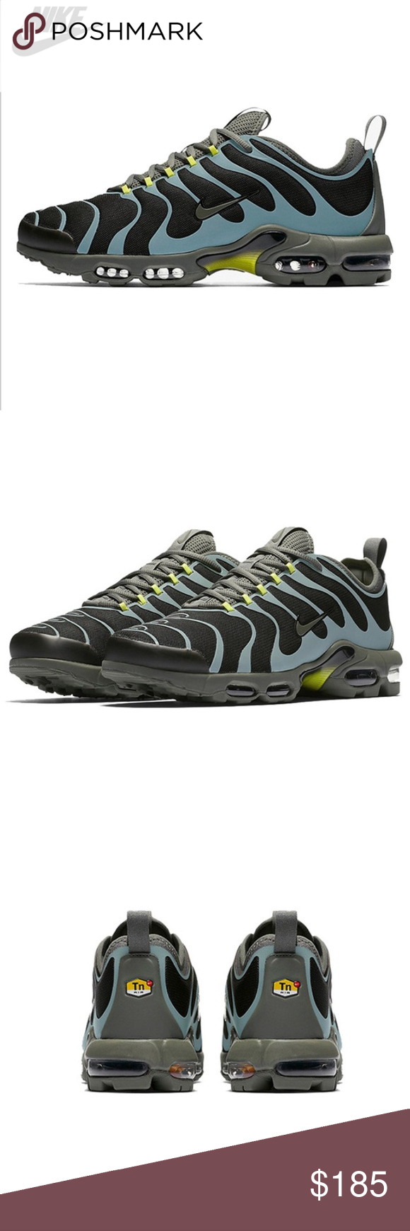 Nike Air Max Plus TN Ultra Black & River Rock | END.