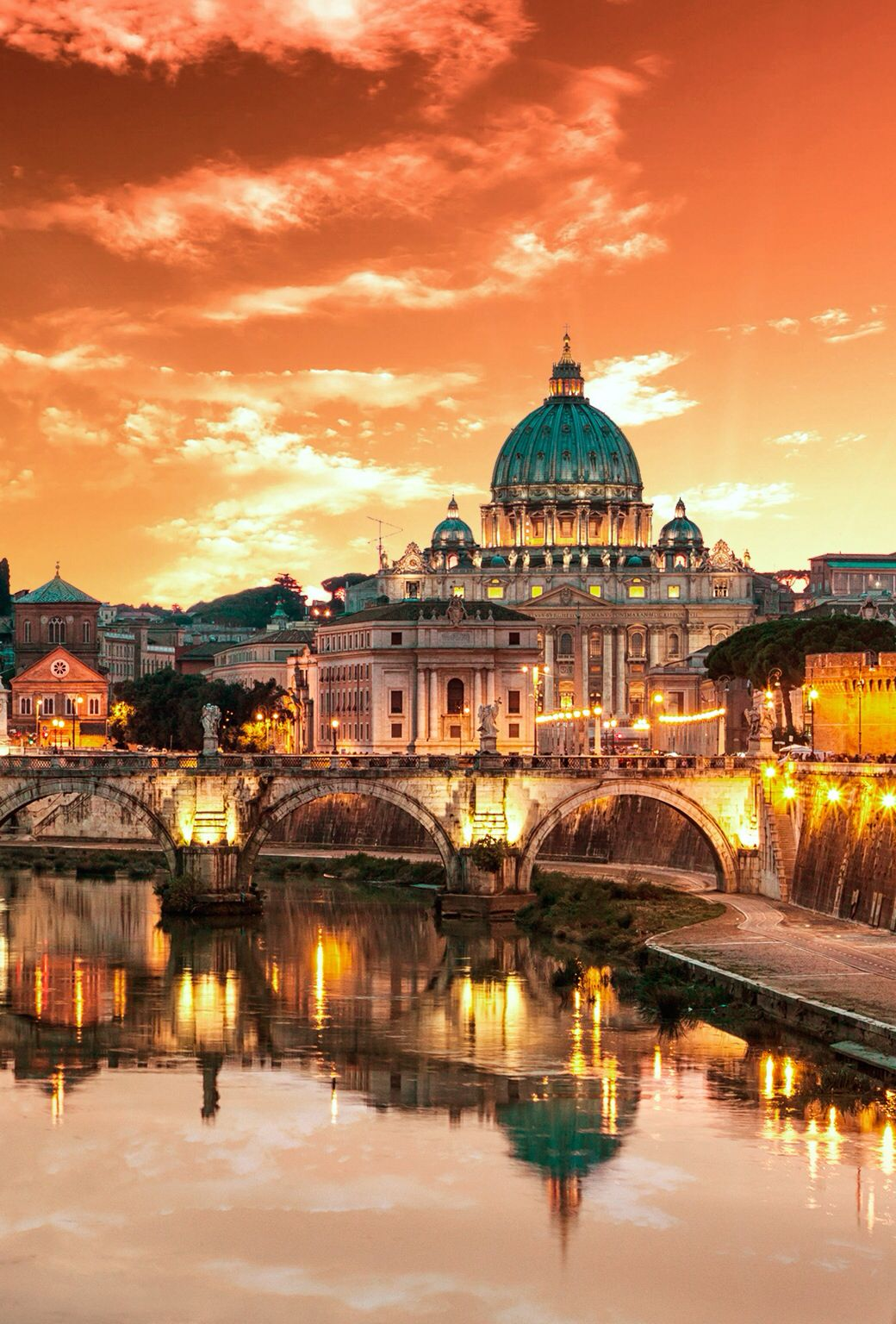 Another place to go love all view pinterest another place to go city sunsetbeautiful thingsbeautiful picturesiphone wallpapersiphone backgroundsrome italytuscany voltagebd Choice Image