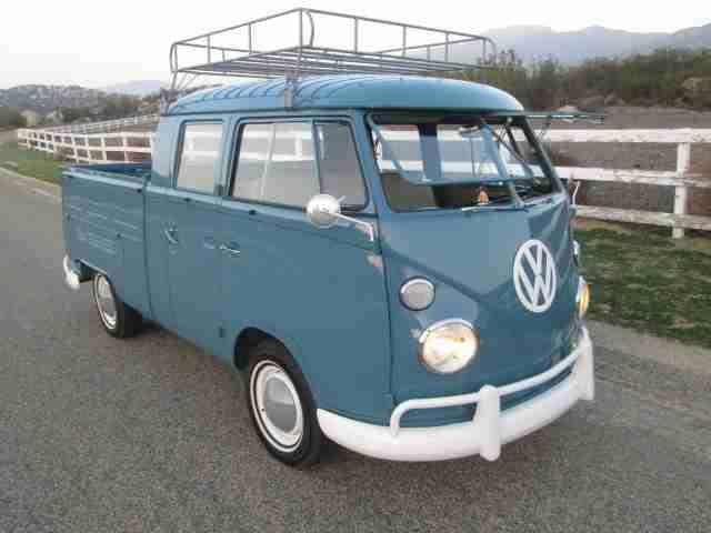 Bestbewertet authentisch zur Freigabe auswählen Luxus 1966 VW Double Cab Transporter For Sale @ Oldbug.   stuff i ...