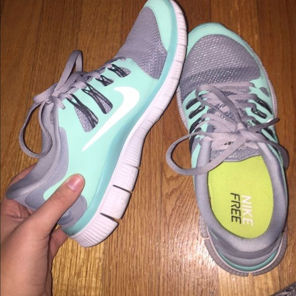 5.0 nikes Worn three times to a gym. In excellent condition Nike Shoes Sneakers