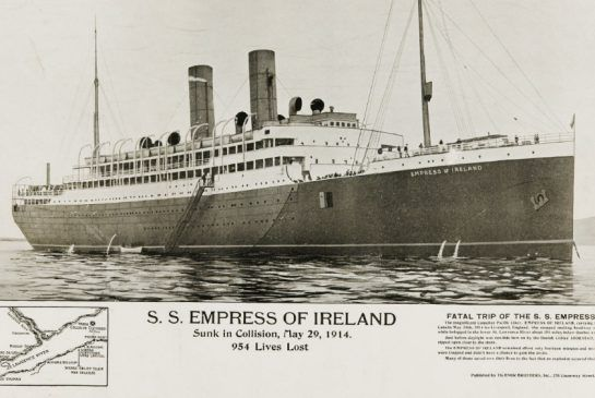The  Empress of Ireland Canadas Titanic