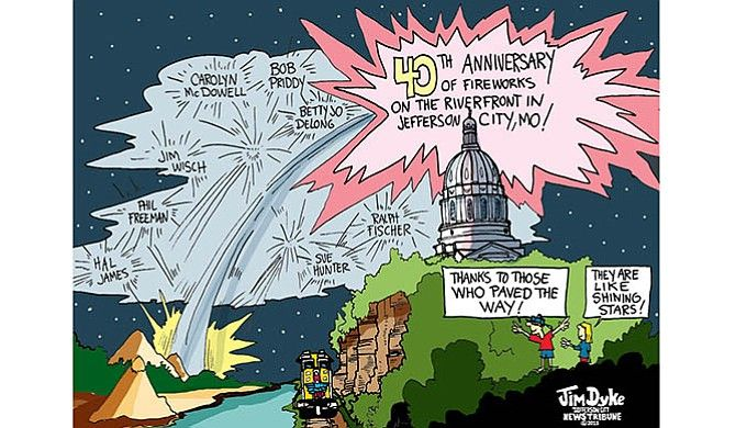 Jefferson City riverfront marks 40 years of fireworks | News Tribune