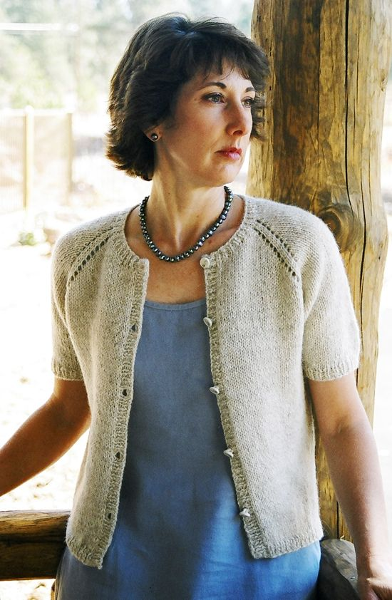 Neck Down Summer Cardigan | Knit It - Garments! | Pinterest | Verano ...