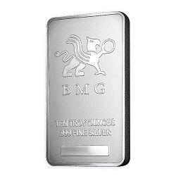 10oz New BMG Silver Bar