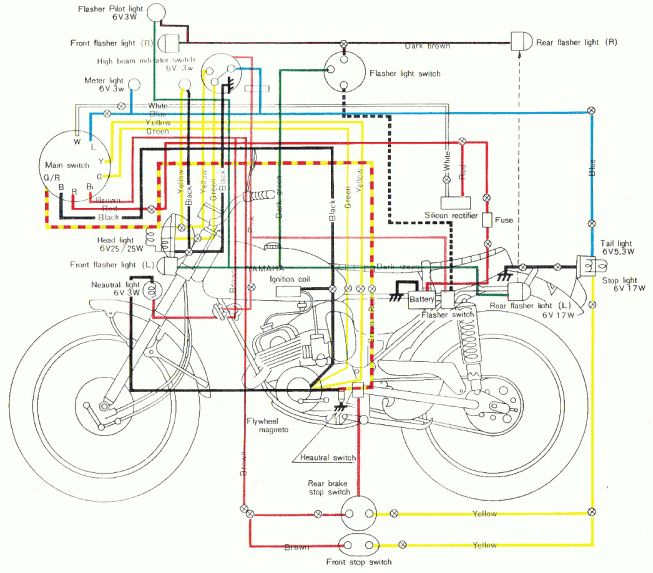 Motorcycle Contact Point Wiring Diagram and Solved: Rs Yamaha Wiring Diagram  - Fixya in 2020 | Motorcycle wiring, Electrical wiring diagram, Diagramwww.pinterest.co.kr