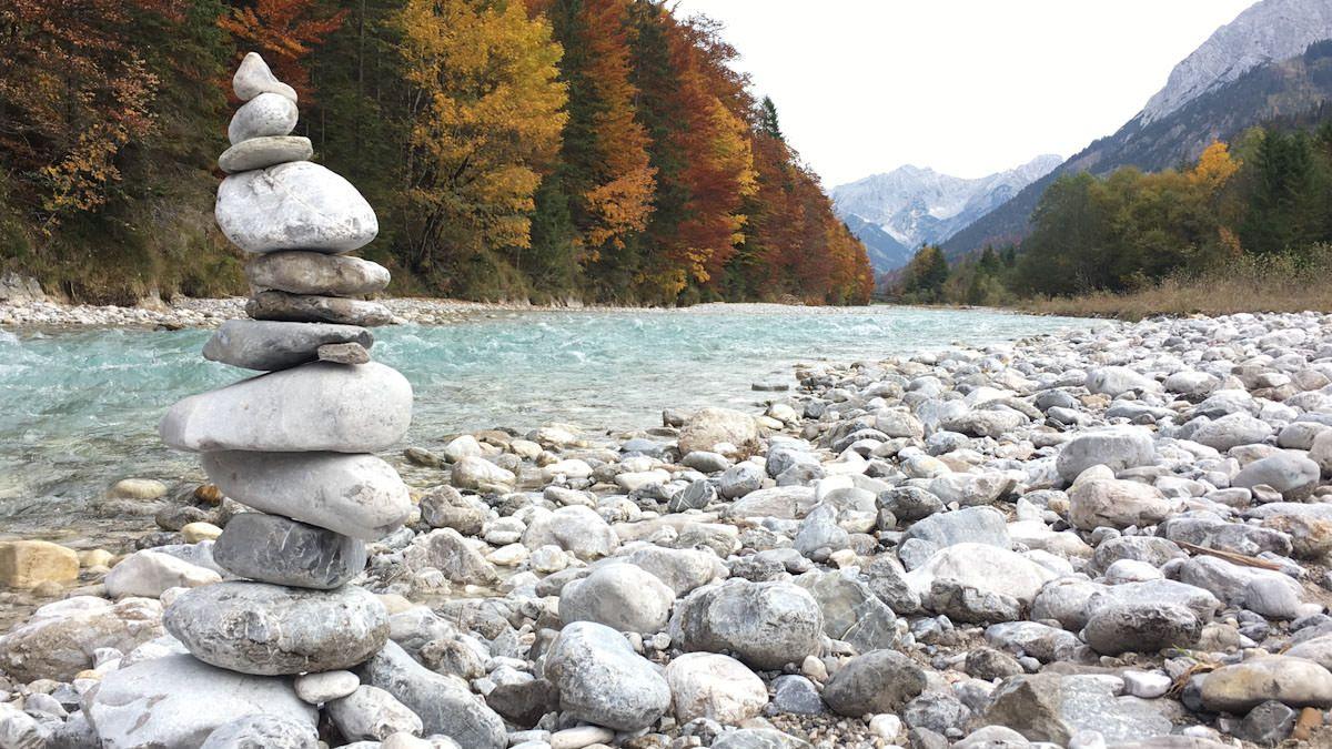 Wandern Grosser Ahornboden Ausflugsziel Nahe Munchen Bayern