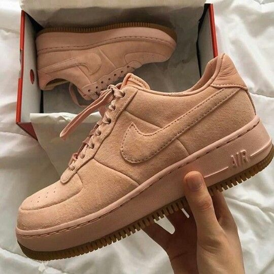 14a9251a8c70 Instagram  Ti.nyyyy Nike Air Force Brown