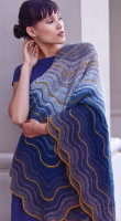 "Yarn Pak: Dusk Shawl / 36"" square - Detailed item view - Knit Isager"