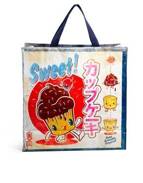 Enlarge Blue Q Sweet Cupcake Shopper Bag  f777928a8a5f1