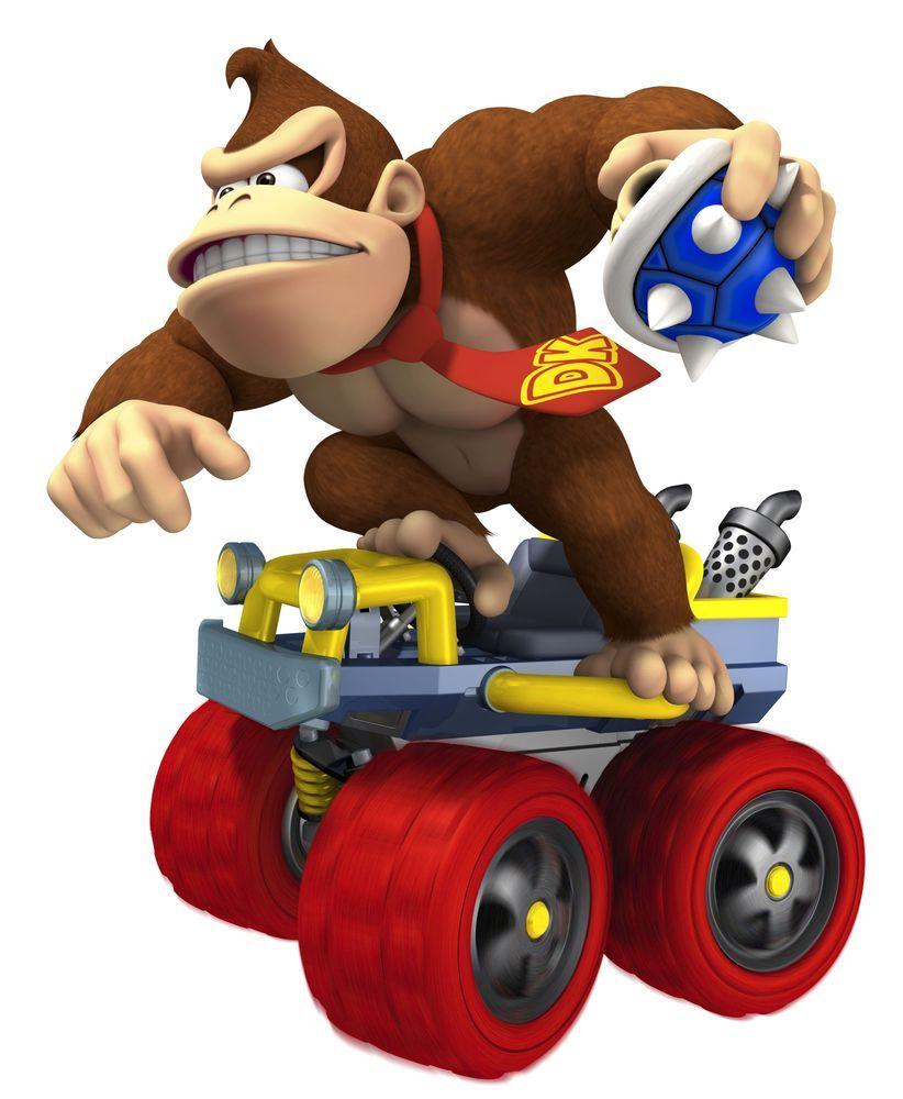 Image Detail For Mario Kart 7 Arte 007 Mario Kart Donkey Kong Mario