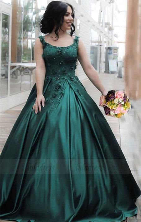 Hunter Embroidered Prom Dress