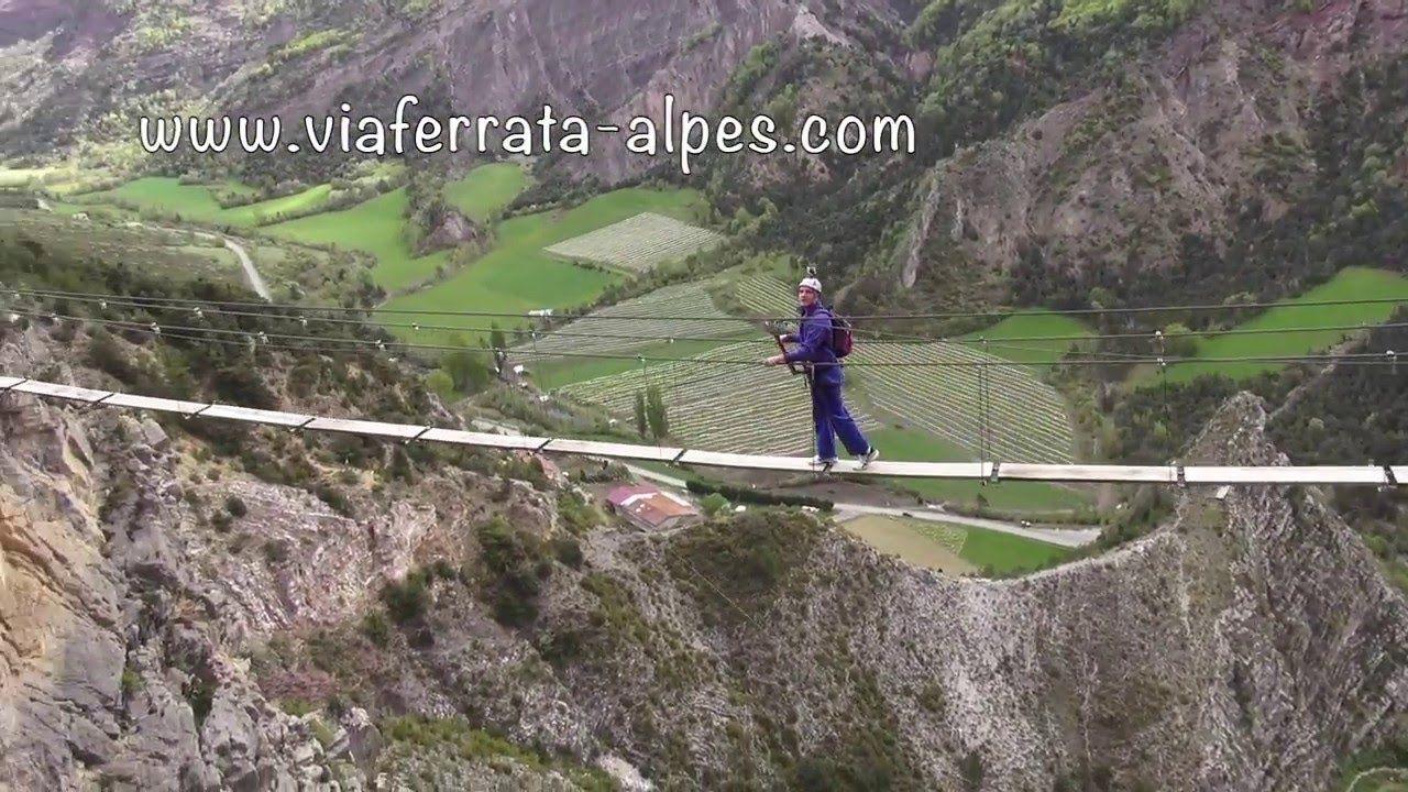 Magnifique Photo Dans Le Passage De La Dalle Couchee De La Via Ferrata De La Grande Fistoire Via Ferrata De La Grande F Le Caire Alpes De Haute Provence Alpes