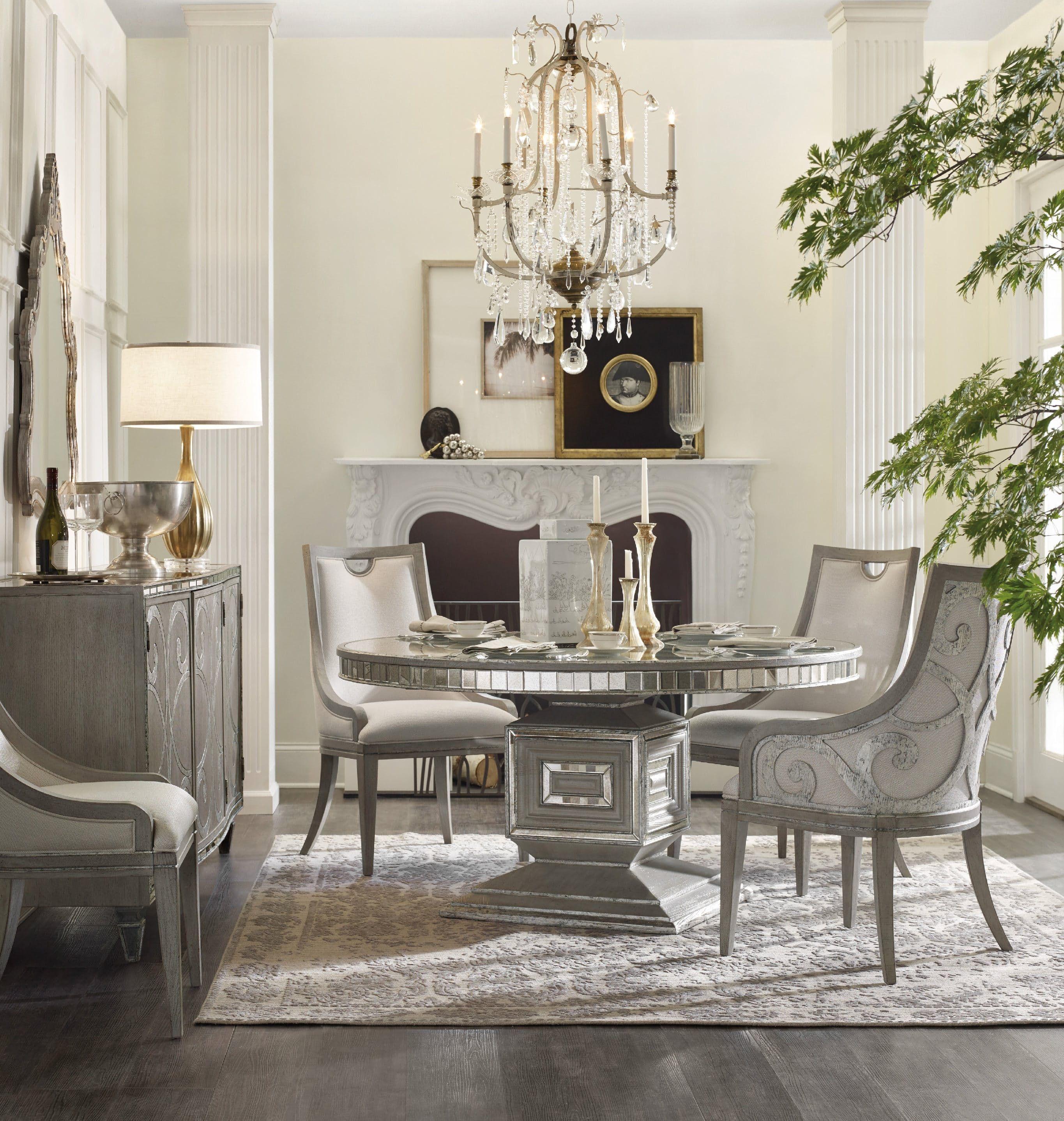 Furniture Dining Room Sanctuary Round Table 5603 75203 Ltbr Louis Shanks Austin Houston San Antonio Tx