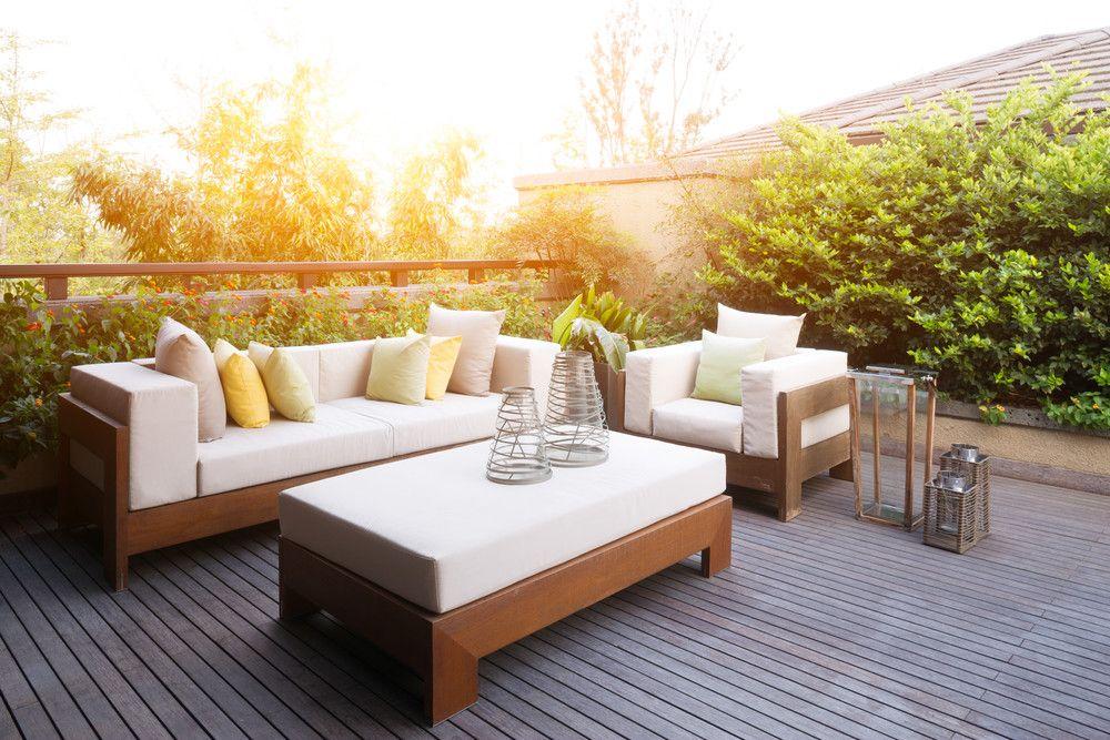 Holzdielen oder Kunststoffdielen als Terrassenbelag? TERRASSE - holzdielen in der küche